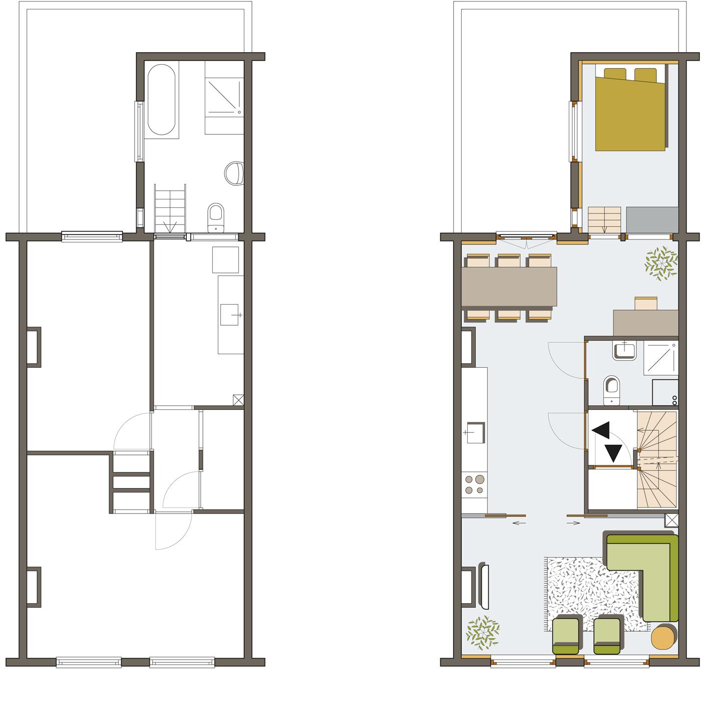 appartement 1e verdieping