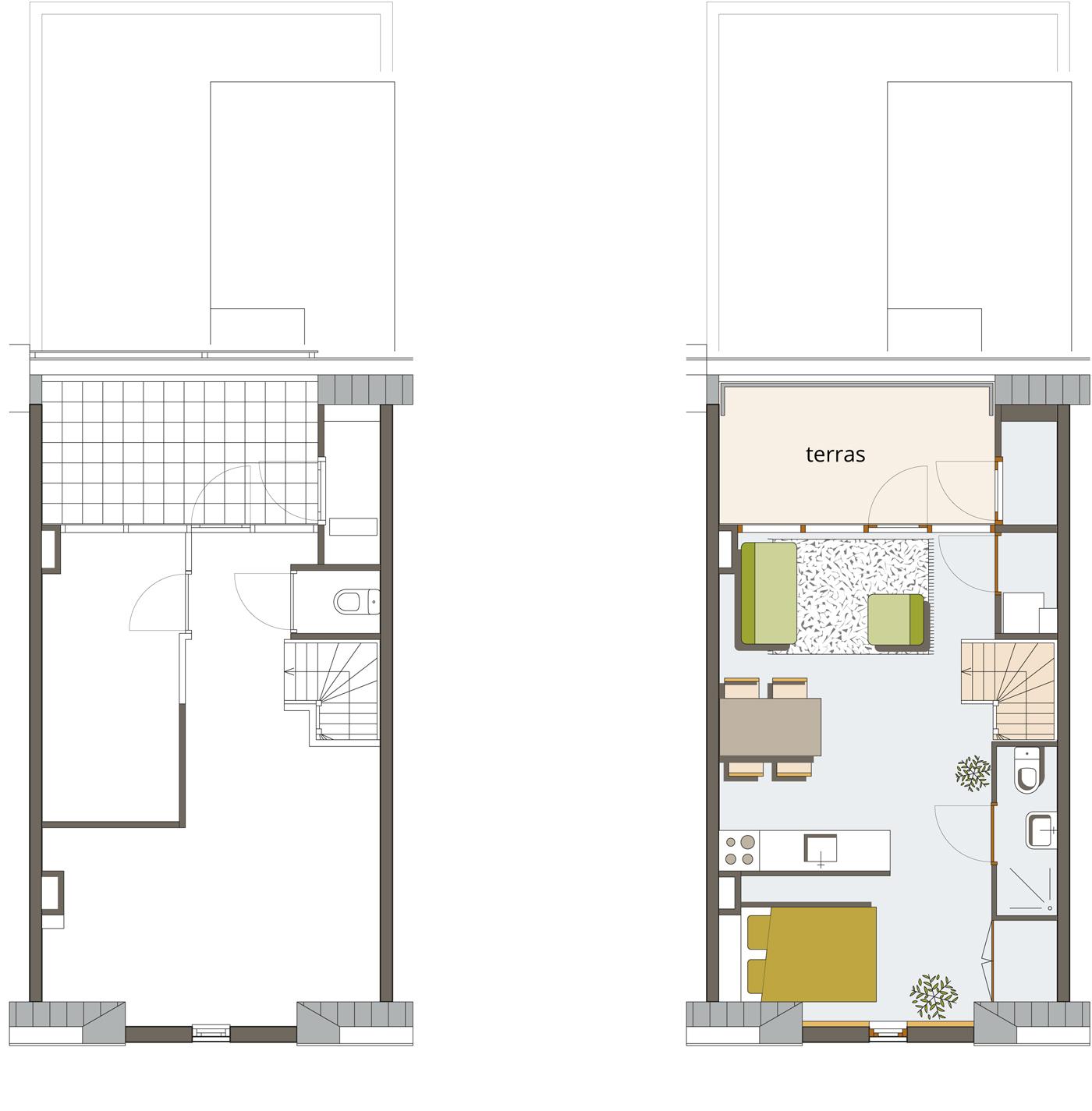 appartement 2e verdieping