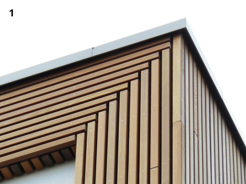 Bekend het detail: houten hoek - hans klanker architect #AD74