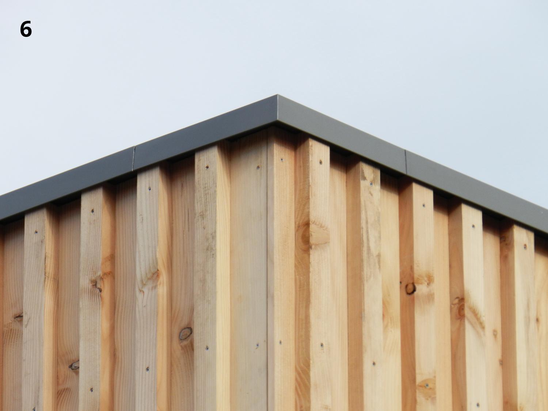 Beroemd het detail: houten hoek - hans klanker architect #XH19